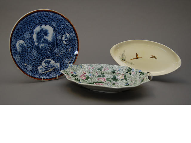 A mixed collection of various plates