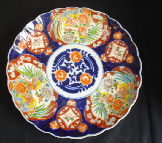 A large Imari plate