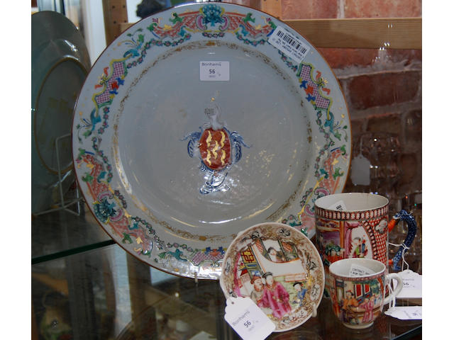 A large Canton export dish