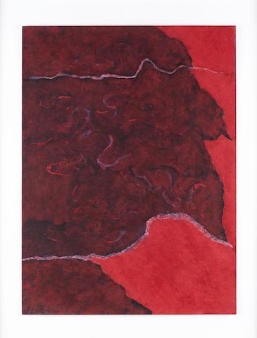Theodoros Stamos (Greek, 1922-1997) Infinity Field Jerusalem Series - Burning bush