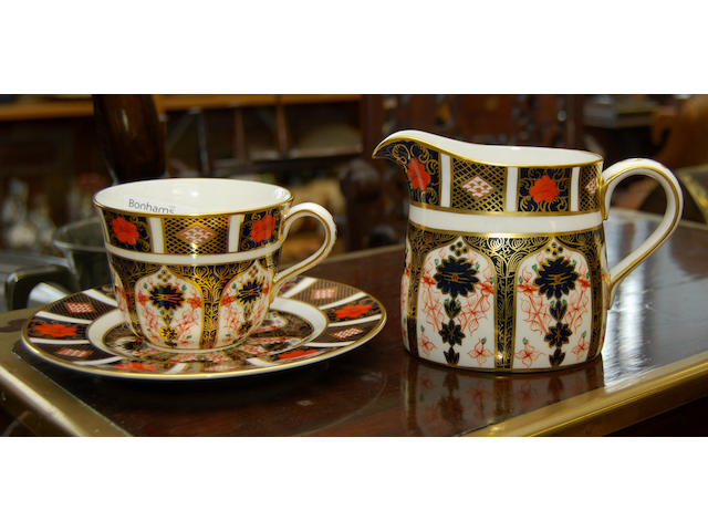 A set of Royal Crown Derby Imari tablewares