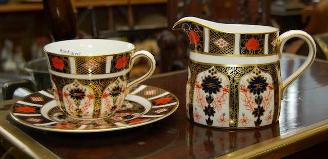 A set of Royal Crown Derby Imari tablewares