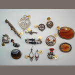 A collection of Scottish jewellery (qty)