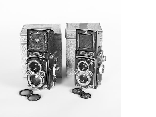 Rolleiflex cameras