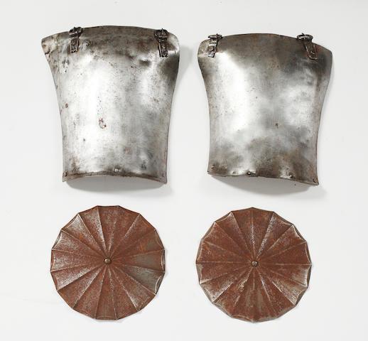 Two 16th Century Tassets