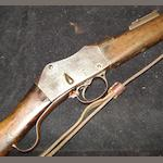 A Martini-Metford .303 'A.C. III' carbine by L.S.A. Co., no. 7419C With leather sling and 1902 dated P1888 bayonet by Wilkinson (scabbard missing)