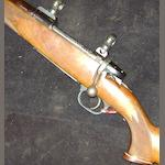 A left-handed .270 (Win) 'Mod. SR20N' sporting rifle by F.W. Heym, no. 22079