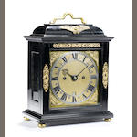 Joseph Knibb - A fine and rare late 17th Century bracket clock