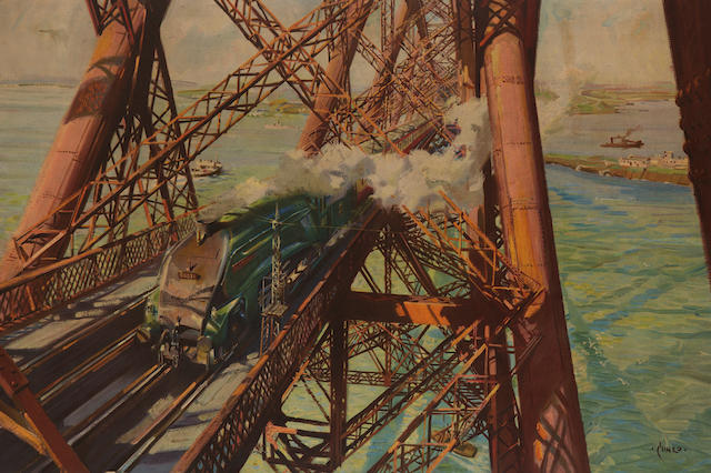 Terrence Cuneo (1907 - 1996)The Forth Railway Bridge poster