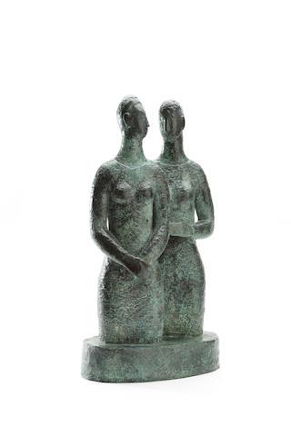 Hannah Frank (1908 - 2008)Double Figure