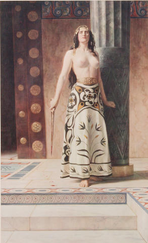 After John Collier Clytemnestra