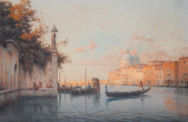 Marc Aldine (French, 1870-1956) Evening in Venice
