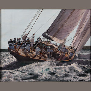 Geoff Caterer (20th Century) Racing Yachts