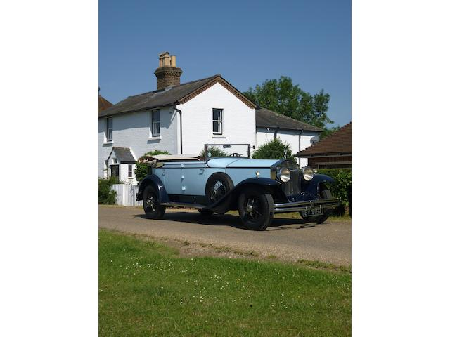 1929  Rolls-Royce Springfield Phantom I Newmarket All-weather Tourer  Chassis no. S339LR