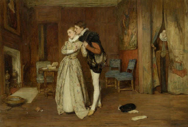 Sir William Quiller Orchardson, RA HRSA (British, 1832-1910)