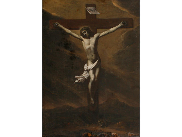 Spanish School, 17th Century The Crucifixion