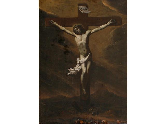 Spanish School, 17th Century The Crucifixion