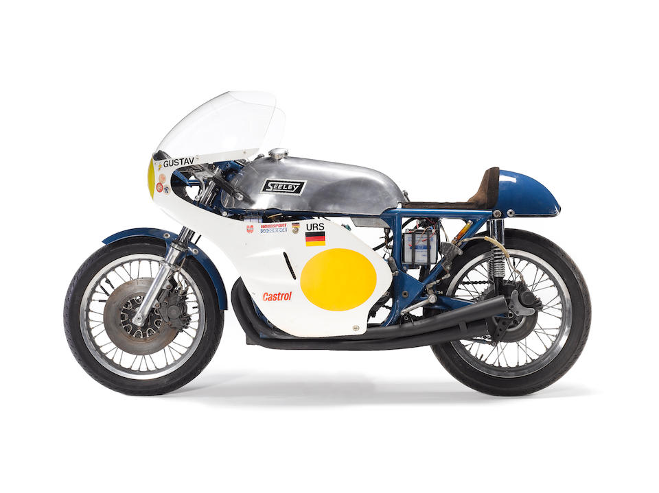 The ex-John Blanchard, Tony Jefferies, works,1967 Seeley-URS 500cc Racing Motorcycle Engine no. 'HEINRICH'