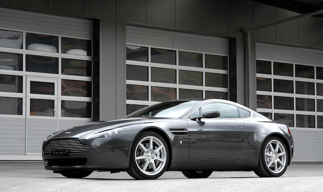 Just 9,623km from new,2006 Aston Martin V8 Vantage   Chassis no. SCFBB03B36GC00696