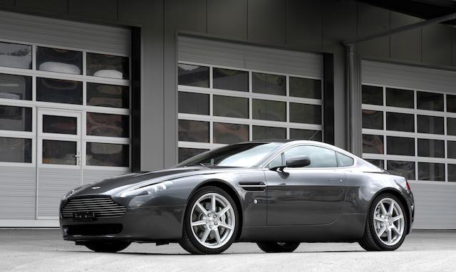 Just 9,623km from new,2006 Aston Martin V8 Vantage   Chassis no. SCFBB03B36GC00696