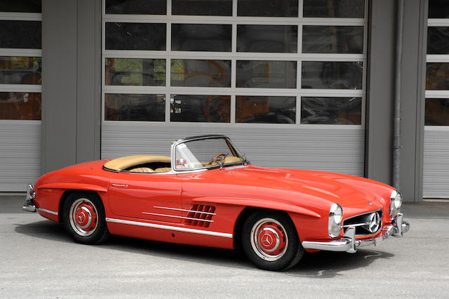 Ultimate specification with disc brakes and alloy engine,1962 Mercedes-Benz 300SL Roadster  Chassis no. 198.042-10-003111