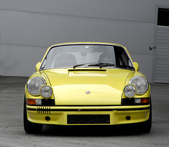 1973 Porsche 911 Carrera RS 2.7 Touring  Chassis no. 9113600724