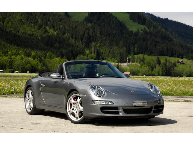 Only 28,206km from new,2005 Porsche 911 Carrera S Cabriolet  Chassis no. WPOZZZ99Z5S760188