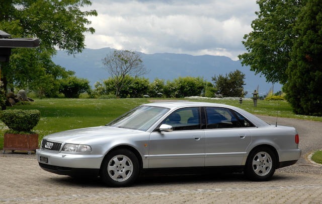 One owner from new,1997 Audi S8  Chassis no. WAUZZZ4DZDN001965