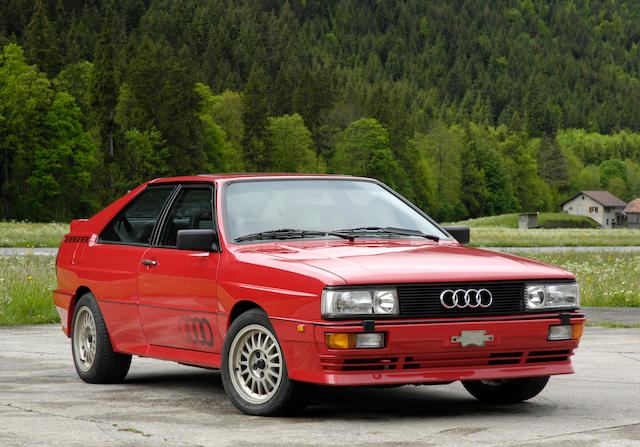 One owner from new,1989 Audi Quattro Turbo 20V  Chassis no. WAUZZZ85ZLA000154