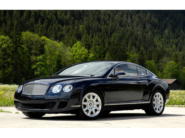 One owner and just 10,375km from new,2008 Bentley Continental GT  Chassis no. SCBCE63W28C057735