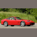 One owner from new,1997 Ferrari 550 Maranello  Chassis no. ZFFZR49B000110792