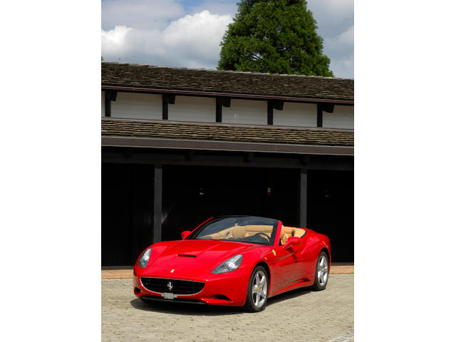 One owner and just 1,222km from new,2009 Ferrari California  Chassis no. ZFFLJ65B000165925