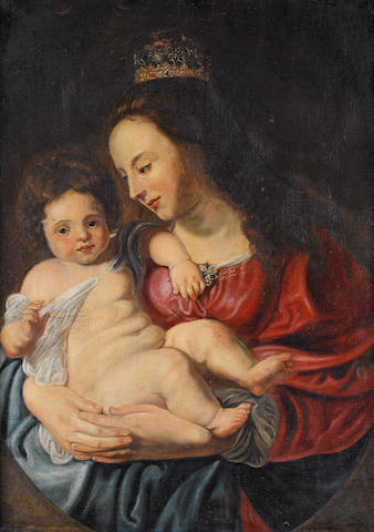 After Sir Peter Paul Rubens, late 17th Century The Madonna and Child