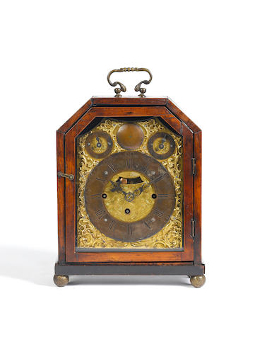 A mid 18th century Austrian table clock by L. Herr