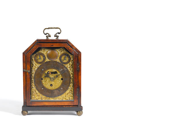 A mid 18th century Austrian table clock L.Herr