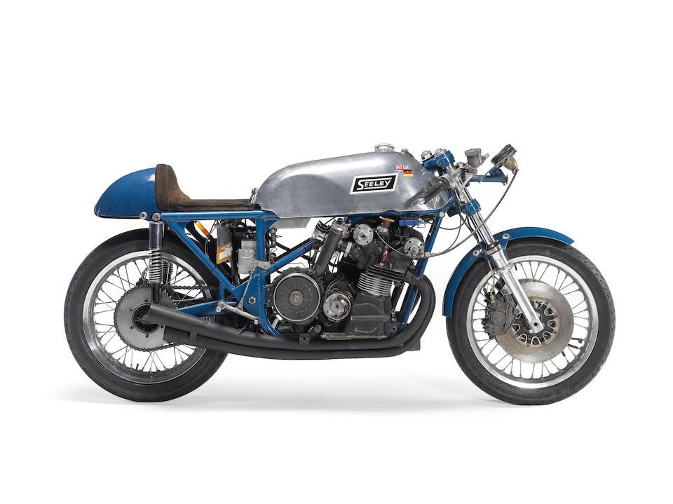 The ex-John Blanchard, Tony Jefferies, works,1967 Seeley-URS 500cc Racing Motorcycle Engine no. 'HEINRICH'