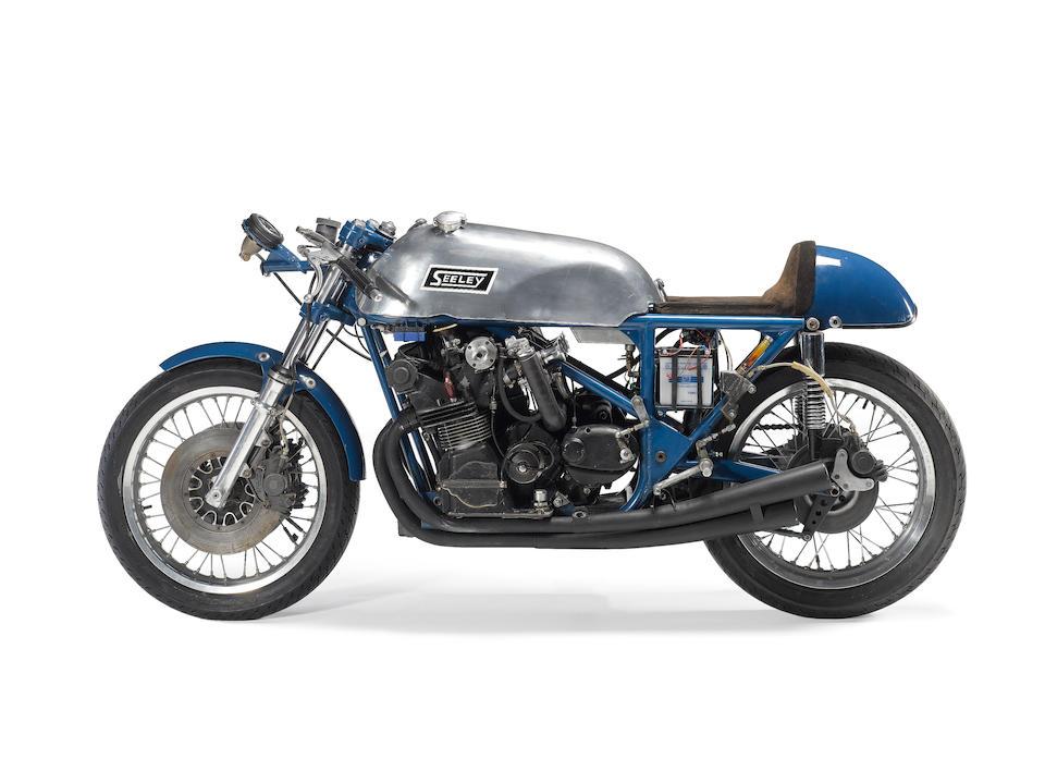 c.1967 Seeley URS Racing Motorcycle,