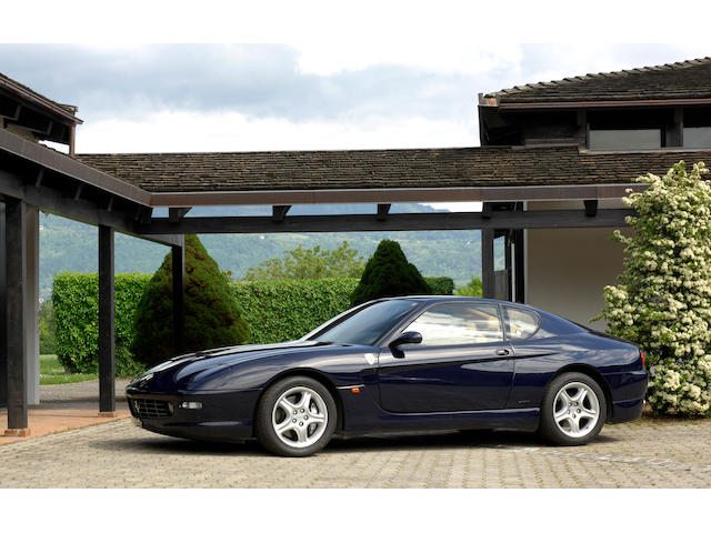 Just 24,600km from new,2002 Ferrari 456M GT