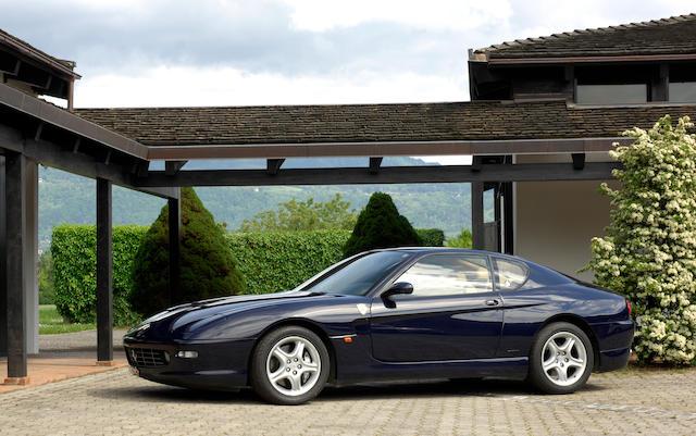 Just 24,600km from new,2002 Ferrari 456M GT