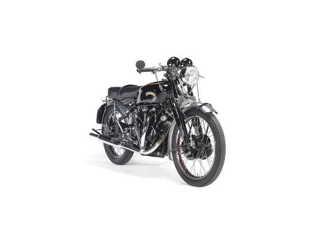 1954 Vincent Black Shadow,
