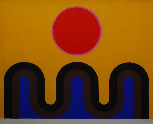 John Coburn (Australian, 1925-2006) 'Oasis',