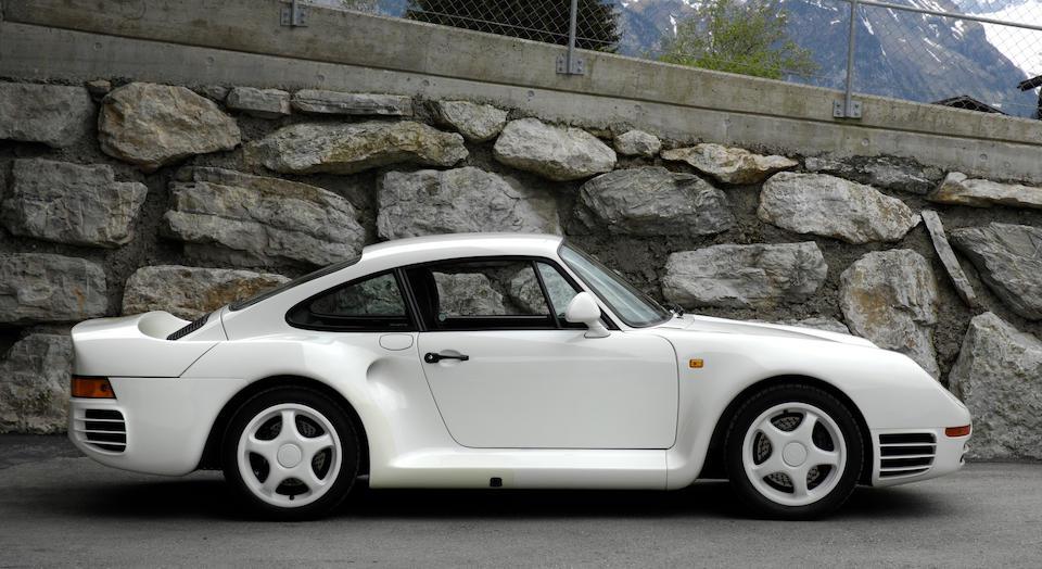 1988 Porsche 959  Chassis no. WP0ZZZ95ZJS90015