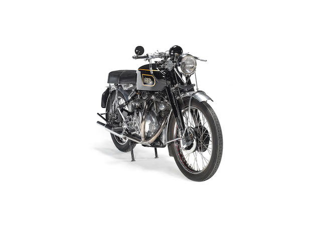 1949 Vincent 998cc Rapide Series C Frame no. R4360 Engine no. F10/AB/1/2460