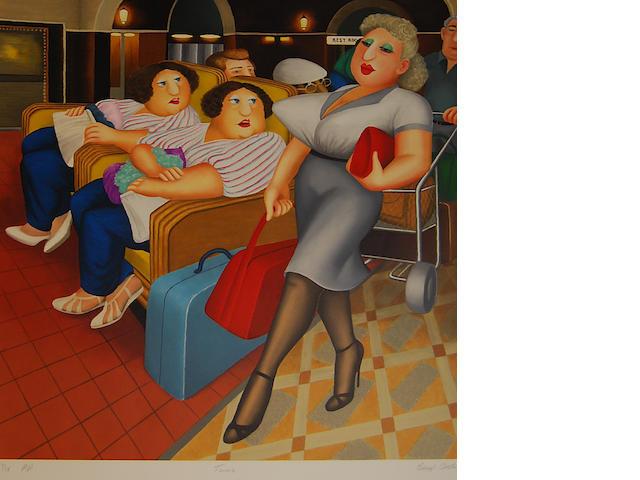Beryl Cook (British, 1926-2008) 'Twins',