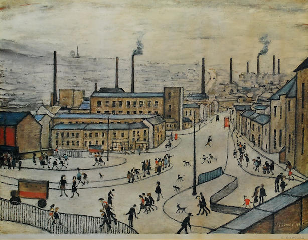 Laurence Stephen Lowry R.A. (British, 1887-1976) 'Huddersfield',