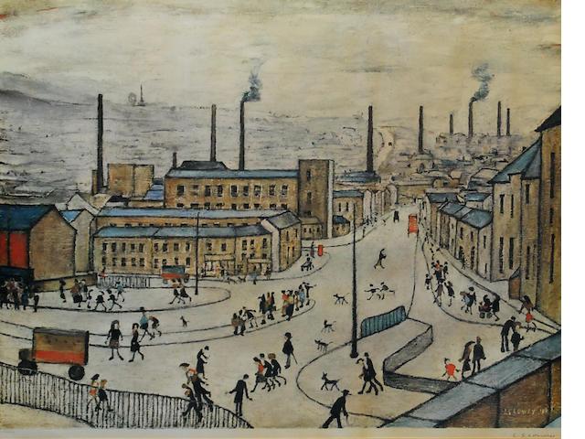 Laurence Stephen Lowry R.A. (British, 1887-1976) 'Huddersfield',