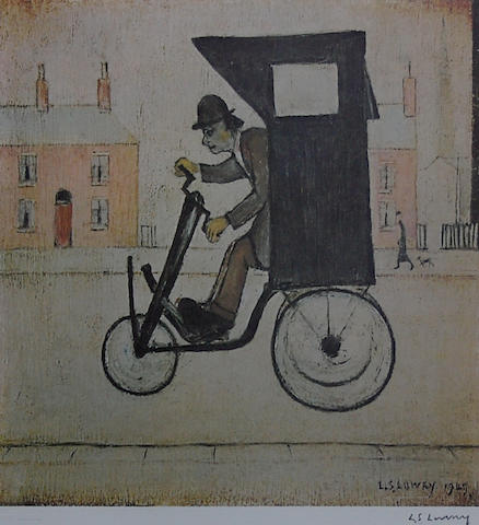Laurence Stephen Lowry, R.A. (British, 1887-1976) 'The Contraption',