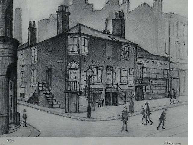 Laurence Stephen Lowry, R.A. (British, 1887-1976) 'Great Ancoats Street',