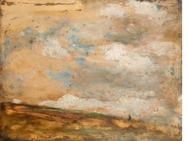 Follower of John Constable, RA (British, 1776-1837) Landscape