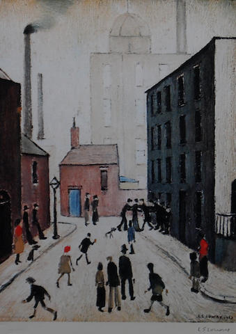 Laurence Stephen Lowry, R.A. (British, 1887-1976) 'Industrial Scene',
